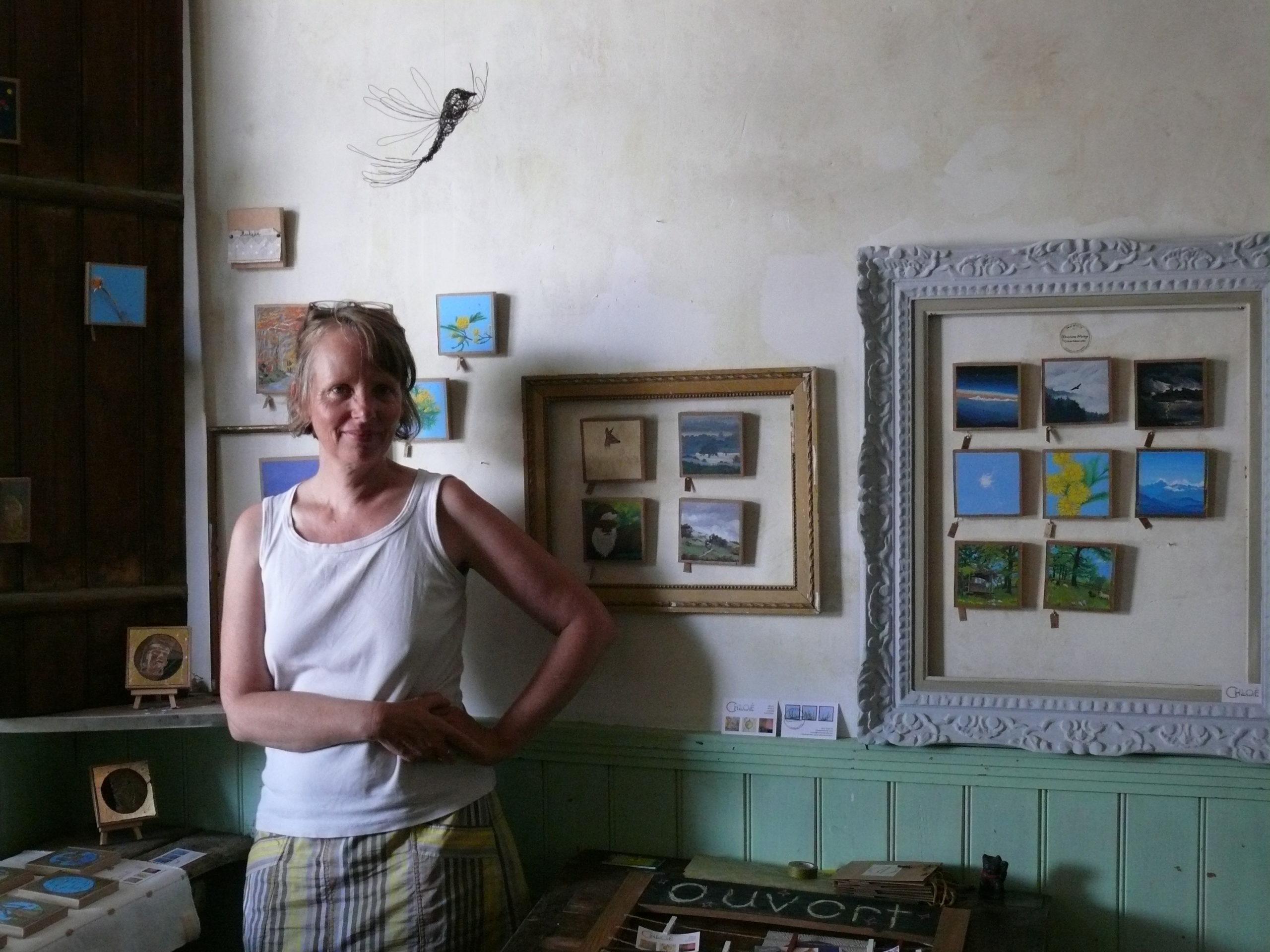 Portrait avec Miniatures d\'Ariège